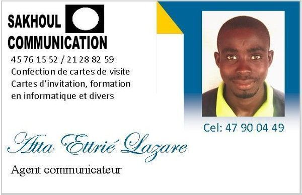 Confection De Carte Visite